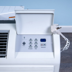 Image 2 of 9k BTU Reworked Platinum-rated Friedrich PTAC Unit with Resistive Electric Heat Only - 265/277V, 20A, NEMA 7-20