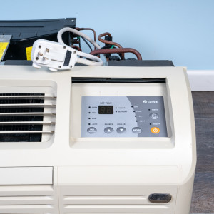 Image 2 of 9k BTU Reworked Gold-rated Gree PTAC Unit with Resistive Electric Heat Only - 265/277V, 20A, NEMA 7-20