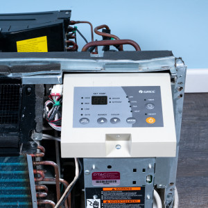 Image 4 of 9k BTU Reworked Gold-rated Gree PTAC Unit with Resistive Electric Heat Only - 265/277V, 20A, NEMA 7-20