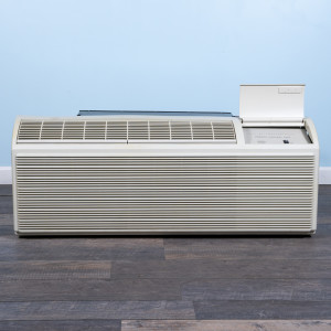 Image 1 of 12k BTU Reworked Silver-rated PTAC Unit with Heat Pump - 265/277V, 20A, NEMA 7-20