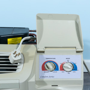 Image 2 of 9k BTU Reworked Gold-rated Carrier PTAC Unit with Resistive Electric Heat Only - 208/230V, 20A