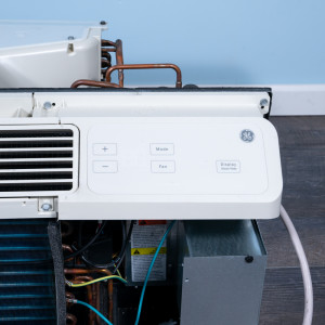 Image 4 of 9k BTU Reworked Gold-rated GE PTAC Unit with Resistive Electric Heat Only - 208/230V, 20A, NEMA 6-20