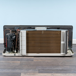 Image 6 of 9k BTU Reworked Gold-rated LG PTAC Unit with Heat Pump - 265/277V, 20A, NEMA 7-20