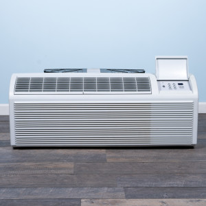 Image 1 of 12k BTU Reworked Gold-rated PTAC Unit with Heat Pump - 208/230V, 20A, NEMA 6-20