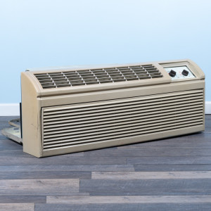 Image 2 of 12k BTU Reworked Gold-rated Amana PTAC Unit with Heat Pump - 208/230V 15A