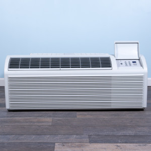 Image 1 of 7k BTU Reworked Gold-rated PTAC Unit with Heat Pump - 265/277V, 20A, NEMA 7-20