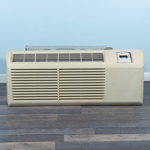 Image 1 of 9k BTU Reworked Gold-rated Trane PTAC Unit with Resistive Electric Heat Only - 265/277V, 15A, NEMA 7-15