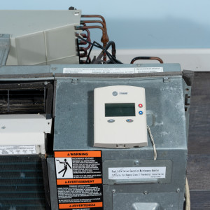 Image 4 of 9k BTU Reworked Gold-rated Trane PTAC Unit with Resistive Electric Heat Only - 265/277V, 15A, NEMA 7-15