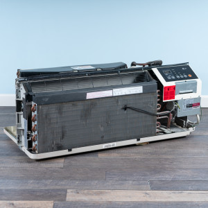 Image 5 of 12k BTU Reworked Gold-rated LG PTAC Unit with Resistive Electric Heat Only - 265/277V, 20A, NEMA 7-20
