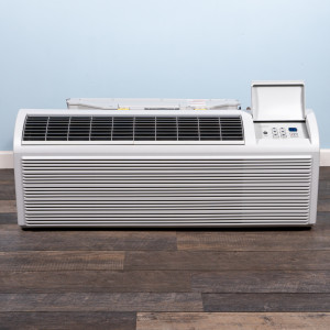 Image 1 of 9k BTU New Friedrich PTAC Unit with Heat Pump - 208/230V, 20A, NEMA 6-20 (PZH09K3SB)