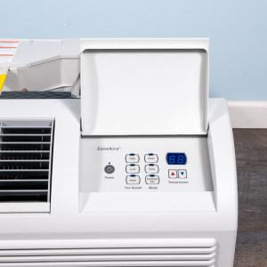 Image 2 of 9k BTU New Friedrich PTAC Unit with Heat Pump - 208/230V, 20A, NEMA 6-20 (PZH09K3SB)