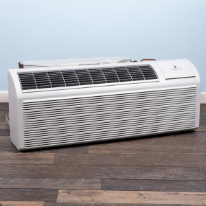 Image 4 of 9k BTU New Friedrich PTAC Unit with Heat Pump - 208/230V, 20A, NEMA 6-20 (PZH09K3SB)