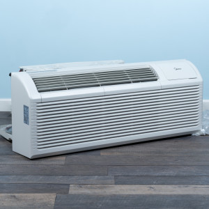 Image 3 of 7k BTU New Midea PTAC Unit with Resistive Electric Heat Only - 208/230V, 20A, NEMA 6-20 (MP07EMB82)