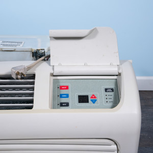 Image 2 of 9k BTU Reworked Gold-rated Amana PTAC Unit with Resistive Electric Heat Only - 220/240V, 20A, NEMA 6-20