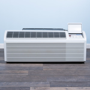 Image 1 of 9k BTU Reworked Gold-rated Friedrich PTAC Unit with Heat Pump - 265/277V, 20A, NEMA 7-20