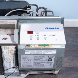 Image 4 of 9k BTU Reworked Gold-rated Friedrich PTAC Unit with Heat Pump - 265/277V, 20A, NEMA 7-20