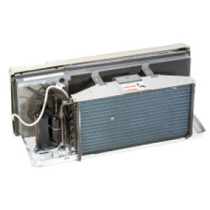 Image 1 of 9k BTU New Trane PTAC Unit with Resistive Electric Heat Only - 208/230V, 20A (TR9KEH230DG)
