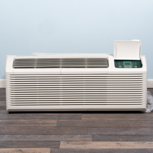 Image 1 of 12k BTU New Midea PTAC Unit with Resistive Electric Heat Only - 265/277V, 30A, NEMA 7-30 (MP12EMC63)