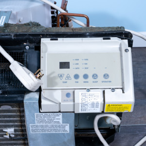 Image 2 of 9k BTU Reworked Gold-rated GE PTAC Unit with Heat Pump - 208/230V, 20A, NEMA 6-20
