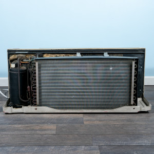 Image 6 of 12k BTU Reworked Gold-rated GE PTAC Unit with Resistive Electric Heat Only - 208/230V, 20A, NEMA 6-20