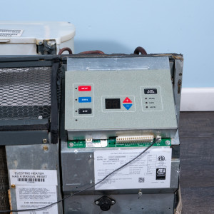Image 4 of 12k BTU New Amana PTAC Unit with Resistive Electric Heat Only - 265/277V, 20A, NEMA 7-20
