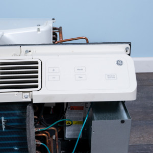 Image 4 of 9k BTU Reworked Platinum-rated GE PTAC Unit with Resistive Electric Heat Only - 265/277V, 20A, NEMA 7-20