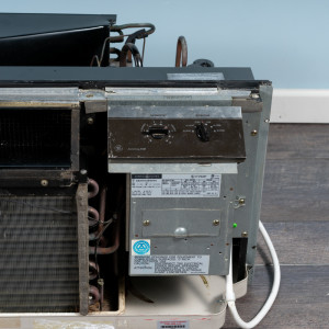 Image 4 of 7k BTU Reworked Gold-rated GE PTAC Unit with Resistive Electric Heat Only - 265/277V, 20A, NEMA 7-20
