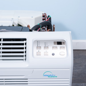 "Image 2 of TTW Unit - 9k Island Aire - 115v 26"" Air Conditioner With Integral Heat Pump and 1.0 kW Resistive Electric Heat"
