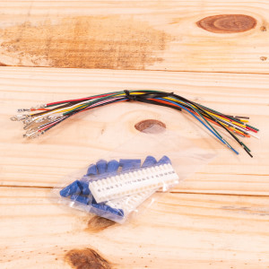 Image 1 of New Amana Thermostat Wire Harness For PTAC Units (PWHK01C)