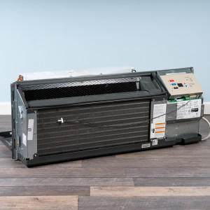 Image 5 of 15k BTU Reworked Gold-rated Amana PTAC Unit with Heat Pump - 208/230V, 15A, NEMA 6-15
