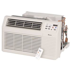 Image 3 of TTW Unit - 9k Amana PBE Series 208v Air Conditioner with 3.5 kW Electric Heat