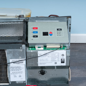 Image 4 of 12k BTU Reworked Gold-rated Amana PTAC Unit with Heat Pump - 265/277V, 15A