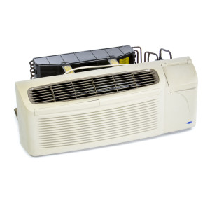 Image 1 of 9k BTU New Carrier PTAC Unit with Resistive Electric Heat Only - 208/230V