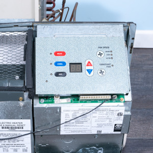 Image 4 of 9k BTU Reworked Gold-rated Amana PTAC Unit with Hydronic - 208/230V, 15A, NEMA 6-15