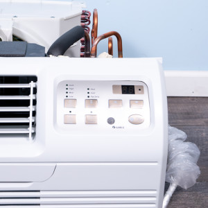 "Image 2 of TTW Unit - 12k Gree 26"" 208v Air Conditioner With Resistive Electric Heat"