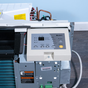 Image 4 of 12k BTU Reworked Gold-rated Gree PTAC Unit with Heat Pump - 208/230V, 20A