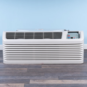 Image 1 of 9k BTU Reworked Gold rated Amana PTAC Unit with Resistive Electric Heat Only - 208/230V, 15A