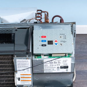 Image 4 of 9k BTU Reworked Gold rated Amana PTAC Unit with Resistive Electric Heat Only - 208/230V, 15A