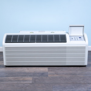 Image 1 of 9k BTU Reworked Platinum-rated Friedrich PTAC Unit with Heat Pump - 208/230V, 20A, NEMA 6-20
