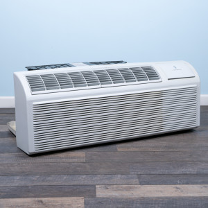 Image 3 of 9k BTU Reworked Gold-rated PTAC Unit with Heat Pump - 208/230V, 20A, NEMA 6-20