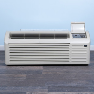 Image 1 of 7k BTU Reworked Platinum-rated PTAC Unit with Resistive Electric Heat - 265/277V, 20A, NEMA 7-20