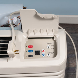 Image 2 of 7k BTU Reworked Platinum-rated Amana PTAC Unit with Resistive Electric Heat Only - 208/230V, 15A, NEMA 6-15