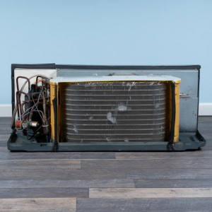 Image 6 of 9k BTU Reworked Gold-rated Amana PTAC Unit with Heat Pump - 265/277V, 20A, NEMA 7-20