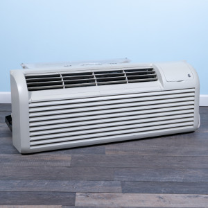 Image 3 of 7k BTU Reworked Gold-rated GE PTAC Unit with Heat Pump - 208/230V, 15A, NEMA 6-15
