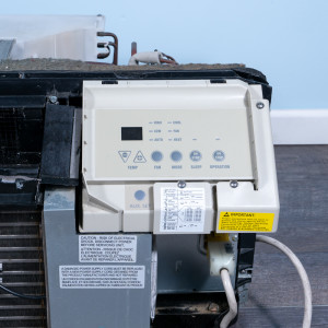 Image 4 of 7k BTU Reworked Gold-rated GE PTAC Unit with Heat Pump - 208/230V, 15A, NEMA 6-15
