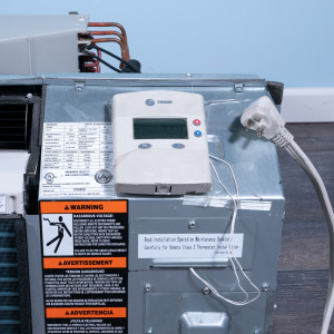 Image 2 of 12k BTU Reworked Platinum-rated PTAC Unit with Resistive Electric Heat - 208/230V, 20A, NEMA 6-20