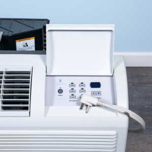 Image 2 of 12k BTU Reworked Gold-rated Friedrich PTAC Unit with Resistive Electric Heat Only - 265/277V, 20A, NEMA 7-20