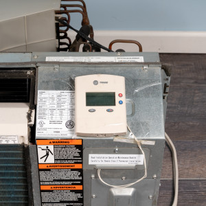 Image 4 of 7k BTU Reworked Gold-rated Amana PTAC Unit with Resistive Electric Heat Only - 208/230V, 15A, NEMA 6-15