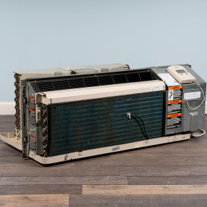 Image 5 of 7k BTU Reworked Gold-rated Amana PTAC Unit with Resistive Electric Heat Only - 208/230V, 15A, NEMA 6-15
