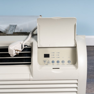 Image 2 of 12k BTU Reworked Silver-rated PTAC Unit with Heat Pump - 265/277V, 15A, NEMA 7-15